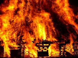 Восемь пожаров произошло в регионе в конце прошлой недели
