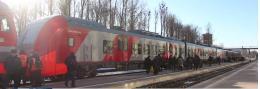 В Ганзейские дни Псков и Печоры соединит поезд «Ласточка»