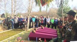 В Усвятском районе перезахоронили останки 45 бойцов Красной армии