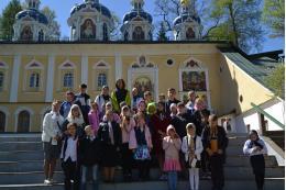 Ребята из деревень Псковской области побывали в Печорах и Изборске