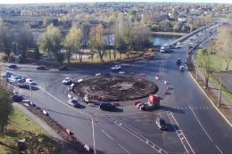 На площади Героев Десантников начались дорожные работы по нацпроекту