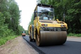 В Псковской области идет ремонт самого крупного объекта нацпроекта БКАД-2020