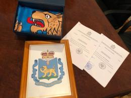 Законы Псковской области о гербе и флаге поданы на регистрацию в Геральдический совет при президенте РФ
