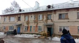 В Славковичах полностью восстановлена сгоревшая крыша дома № 51