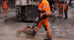 Улицу Юбилейную в Пскове отремонтируют до 15 октября