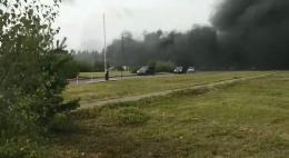 Почему вчера горелипомещении асфальтобетонного завода «Псковдорспецстрой»?