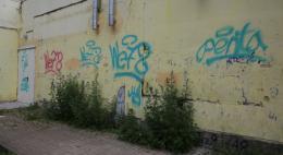В Пскове молодой человек и девушка будут привлечены к ответственности за рисование граффити и распитие спиртных напитков в общественном месте