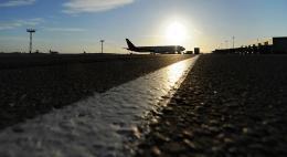 Самолет выкатился за пределы взлетно-посадочной полосы в Шереметьево