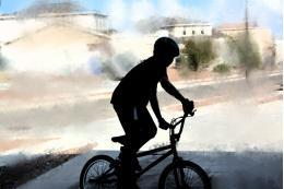 Ребенка-велосипедиста сбили в Великолукском районе