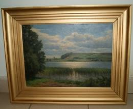 Незадекларированную картину датского художника псковичу не позволили провезти за границу