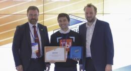 Илья Побережский, подопечный журналистов Первого Псковского канала, стал победителем международного конкурса студенческих СМИ
