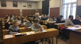 ПсковГУ провел первый (отборочный) тур олимпиады школьников «Наследники Левши» по физике