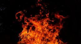Пскове горит Дом Сафьянщикова