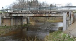 Более 70 млн рублей направят на реконструкцию моста через реку Ашевка в Бежаницком районе