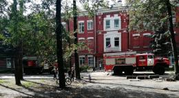В Доме офицеров в Пскове произошло возгорание