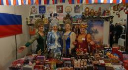 Продукция Псковской области имела большой успех среди посетителей Рождественской благотворительной ярмарки в Вильнюсе