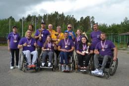 Псковские спортсмены завоевали более 20медалей на фестивале молодых людей синвалидностьюСеверо-ЗападаРоссии сПОДА