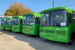 Первая партия новых автобусов прибыла в Псков