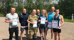 Псковские росгвардейцы победили в соревнованиях по летнему служебному биатлону