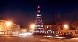 На украшение улиц к Новому году в Пскове выделят 2 миллиона рублей