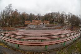 Зеленый театр в Пскове реконструируют за государственный счет