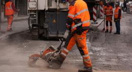 В Пскове на полтора месяца закроют улицу Герцена
