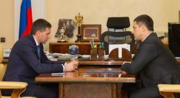 Рабочая встреча губернатора Псковской области и главы Минприроды состоялась в Москве
