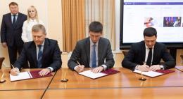 Михаил Ведерников подписал соглашение с «Леруа Мерлен»