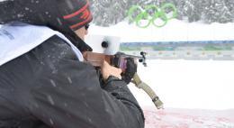 На чемпионате в Ижевске псковский биатлонист завоевал золото