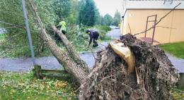 В Петербург из Финляндии движется мощный шторм «Айла»