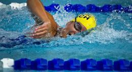 В первенстве города Пскова по плаваниюприняли участие 166 спортсменов