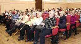 В зале Псковского областного совета профессиональных союзов состоялся праздничный концерт, посвященный Дню матери