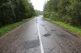 Более 3 км дороги Псков-Паклино приведут в порядок до 15 декабря