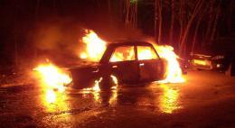 За сутки в регионе сгорели три ВАЗа