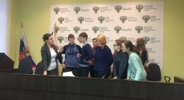 В рамках «Недели конкуренции 2018 Псков» в Управлении ФАС состоялся День открытых дверей для школьников