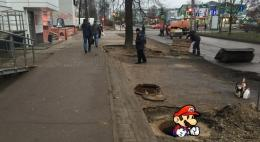 """Представители """"Убитых дорог"""" раскритиковали ремонт центральных улиц Пскова"""