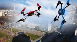 Первые соревнования по дрон-рейсингу могут пройти в Пскове