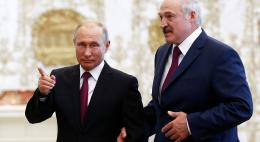 Лукашенко прибыл на встречу с Путиным в Сочи