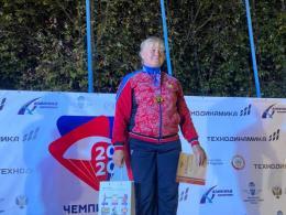 Псковская парашютистка Елена Лактионова установила новый национальный рекорд по скоростному падению