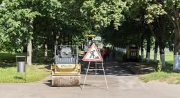 В Пскове отремонтированы улицы Рельсовая, Железнодорожная и Паровозный проезд