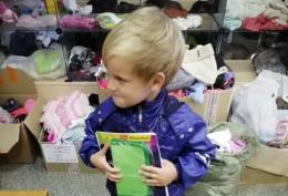 Акция «Соберем ребенка в школу» проходит в Псковской области