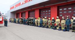 В Псковской области прошёл первый специального учения МЧС