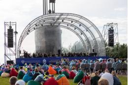 В день России на горе Соколиха прошел концерт «На страже мира»