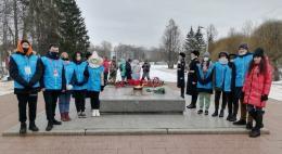 Волонтеры победы присоединились к Всероссийской патриотической акции «Защитим память героев»