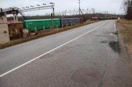 Дорогу к железнодорожной станции Печоры Псковские обновят за счет нацпроекта