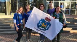 Псковская делегация приняла участие в форуме волонтеров культуры «Невский 800»