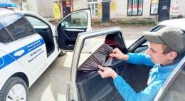 Троих водителей привлекли за нарушения правил тонировки в Новосокольническом районе