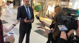 Ян Лузин: «ТРК «Акваполис» полностью соответствует противопожарным нормам»