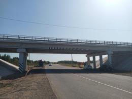 Открыто движение транспорта по путепроводу через Северный обход города Пскова