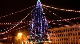 Администрация города объявила аукцион на монтаж новогодней иллюминации